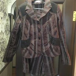 Suit jacket and skirt 50