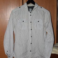 Белая рубашка размер S