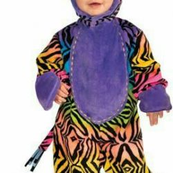 New Year's costume for baby