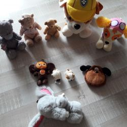 Soft toys new package