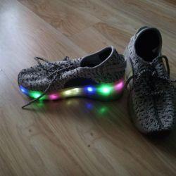 Sneakers on wheels