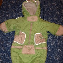Winter jumpsuit for baby (2 in 1)