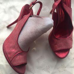 Textile noi sandale și piele p37 Italia.🇮🇹