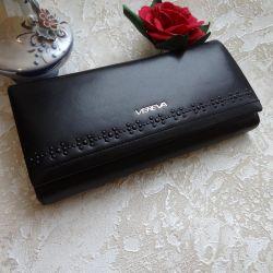 Новый женский кошелек в коробке