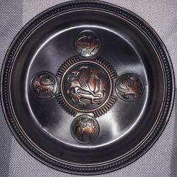Copper wall plates. They are many years old.