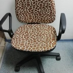 The chair is kompyuter