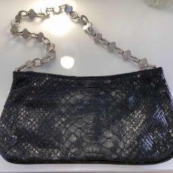 δερμάτινη τσάντα python, μάρκα Atahualpa