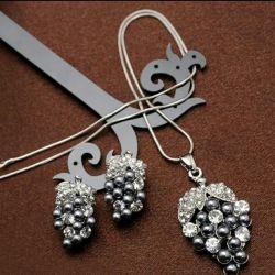 Κοσμήματα ,, μπουκέτο σταφυλιών
