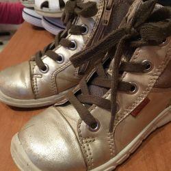 Boots of demi-season ecco