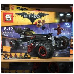 Designer bela batman. Analog lego batman