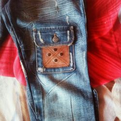 New denim breeches, branded size.42-44