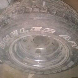 Wheels 235/75 r15 on the Nissan Patrol SECOND-HAND