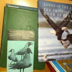 Cărți despre păsări, despre natură, zoologie