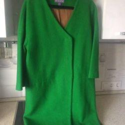 Νέο φωτεινό κομψό παλτό
