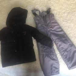 Winter overall for 2-4 years