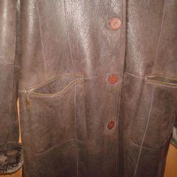 Sheepskin coat lightweight