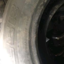 Tires used.