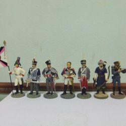 Παιχνίδι στρατιώτες σειρά Πόλεμος του 1812