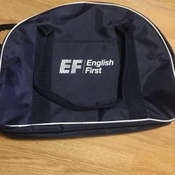 New sports bag with logo