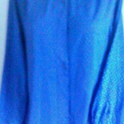 синяя блузка 48-50