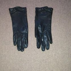 I will sell leather gloves