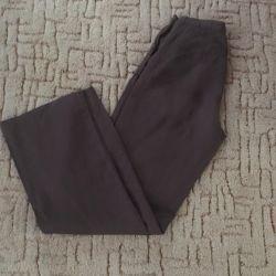 Pantaloni din lână, dimensiuni 42-44