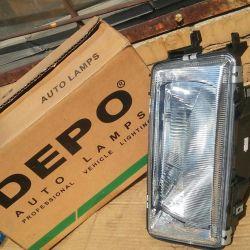 Headlight Right Audi 80 86-91