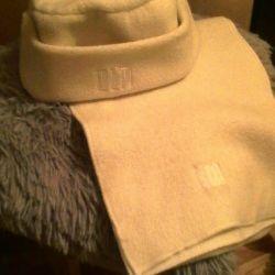 Cap + scarf + gloves