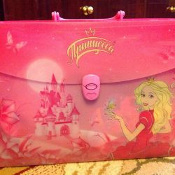 New plastic briefcase