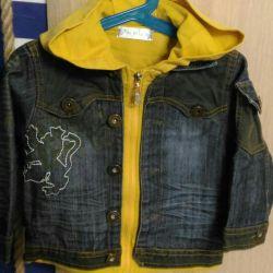 Dimensiunea jachetei denim 110