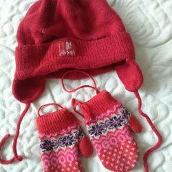 JANUS hat + mittens