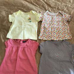 Tricourile au vârsta de 9-12 luni.