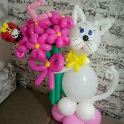 кульки і фігурки на будь-яке свято