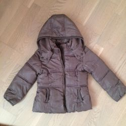 Jacket for the girl of 110 cm of Zara of gray color