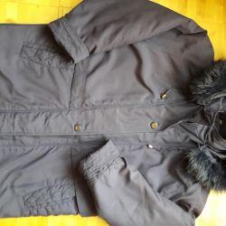 Parka insulated jacket 52 size