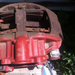 Caliper (knorr bremse) on Iveco Stralis 2003