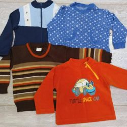 Sweaters for boy package