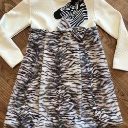 Elbise zebra
