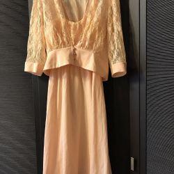 Коктейльное платье с кофточкой