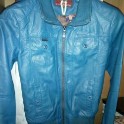 Jacket deputy leather for women