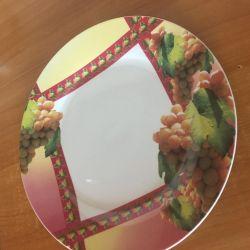 Επίπεδο πιάτο 2 τεμ