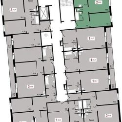 Apartment, 3 rooms, 78 m²