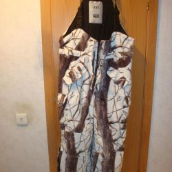 winter camouflage suit