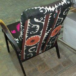 Chair design in oriental style