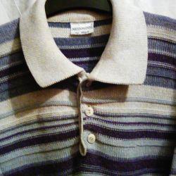 Geniş omuzlu erkek için Polo gömlek