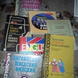 7 βιβλία φράσης, 7 γλώσσες.