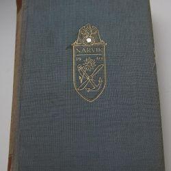 Orijinal kitap Narvik 1940 baskısı Almanya