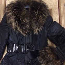 Ceket kış holofayber rakun