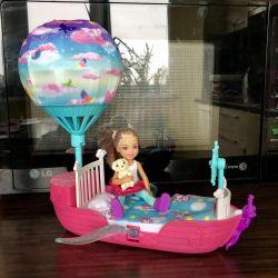 Barbie Dreamtopia Челси и ее корабль