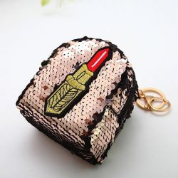 Purse for a girl with sparkles
